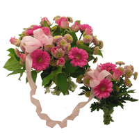 Mother and daughter bouquet