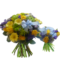 Mother and son bouquet